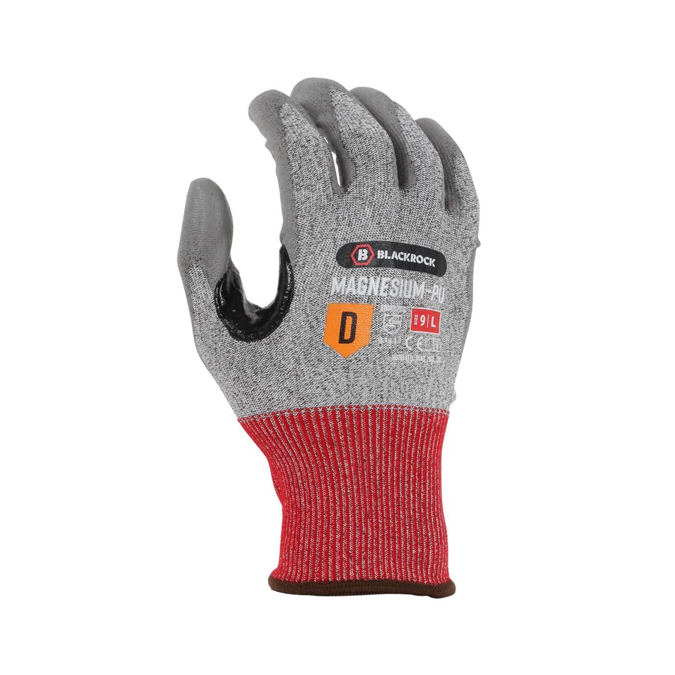 Magnesium-PU Cut Resistant Glove