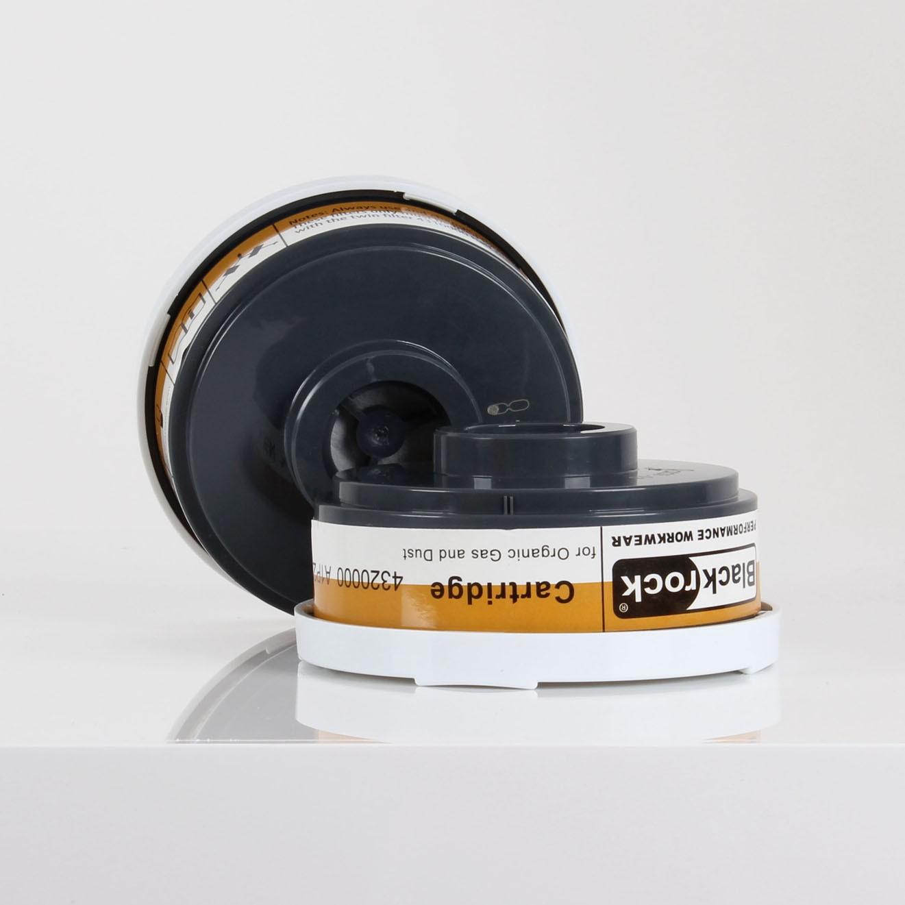Replacement A1/P2 Filter Respirator Cartridges