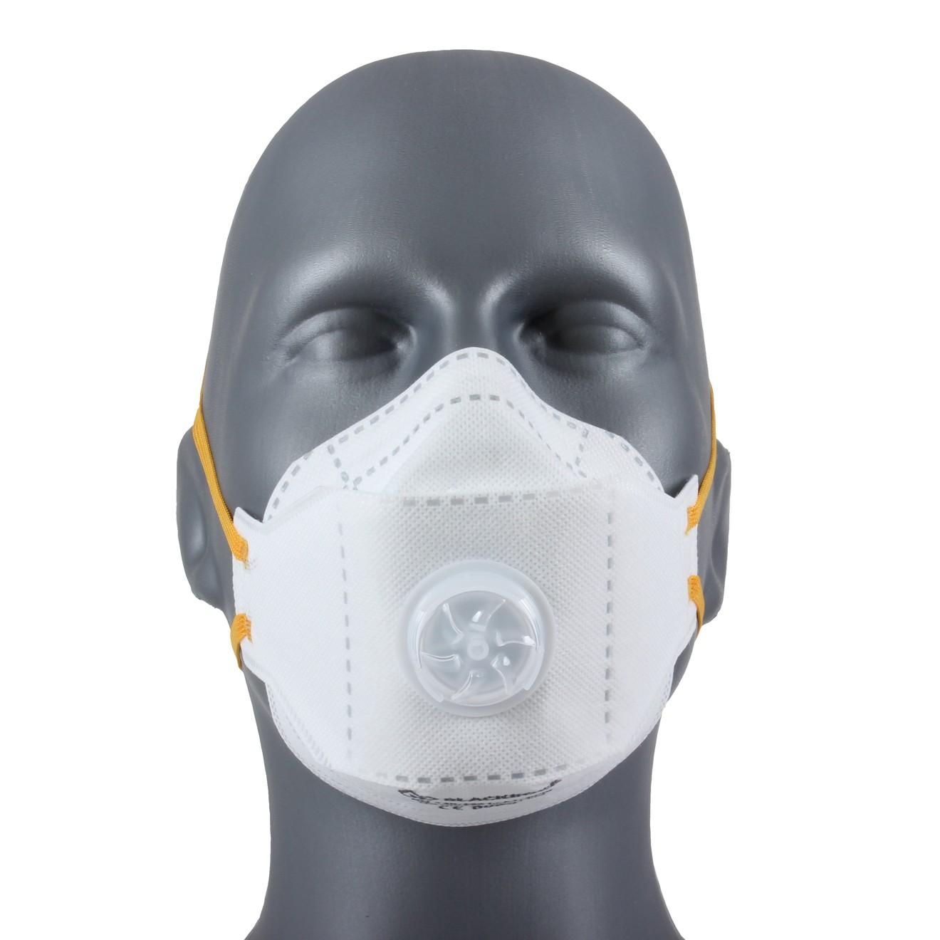 Eazi-Breathe FFP2 Fold Flat Disposable Respirator