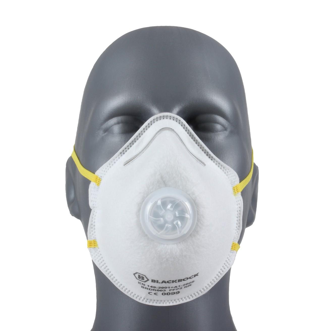 Eazi-Breathe FFP2 Moulded Disposable Respirator