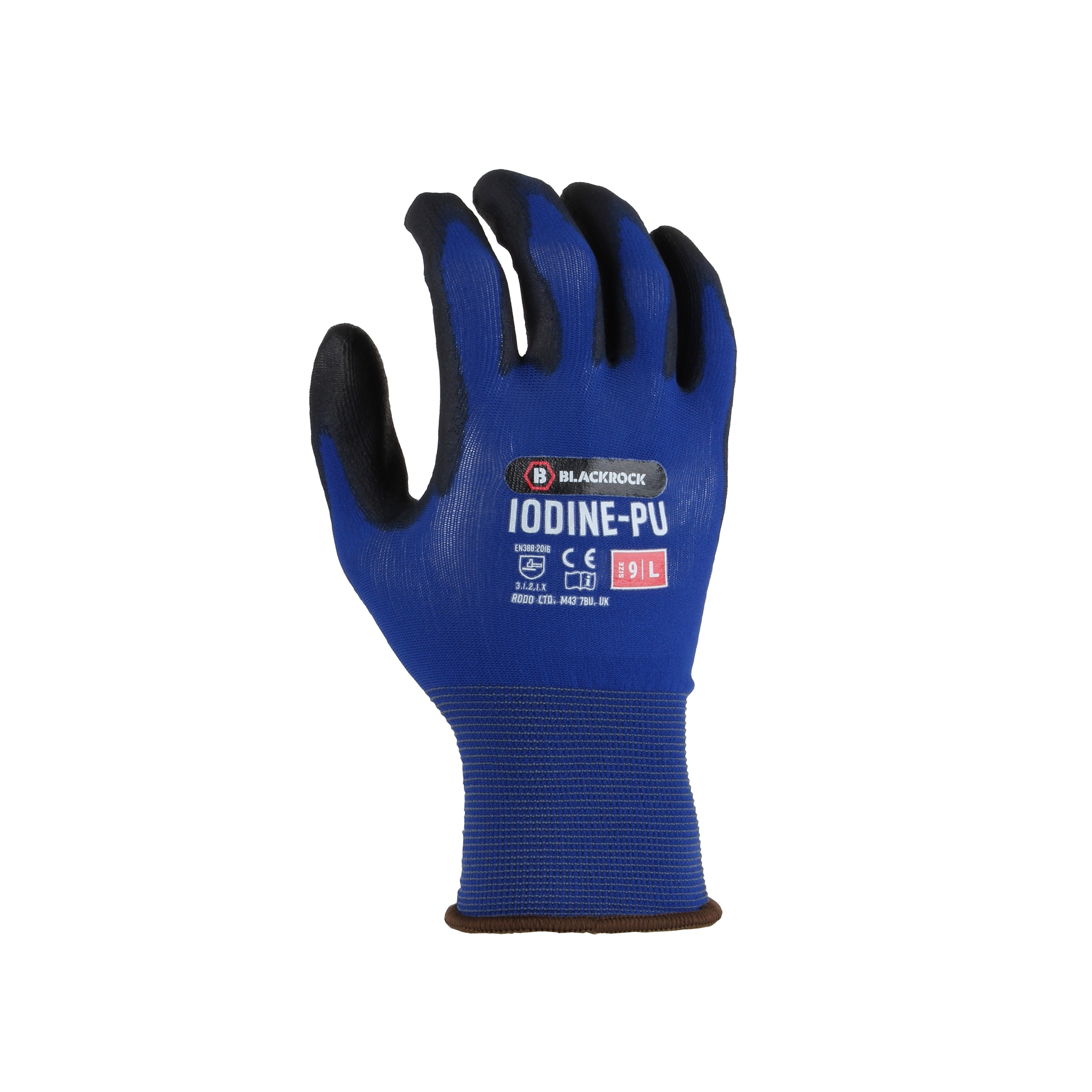 Iodine-PU Work Glove